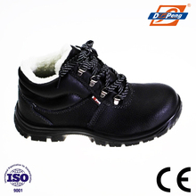 warm women winter safety work boots with wool