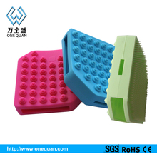 Silicone face massager