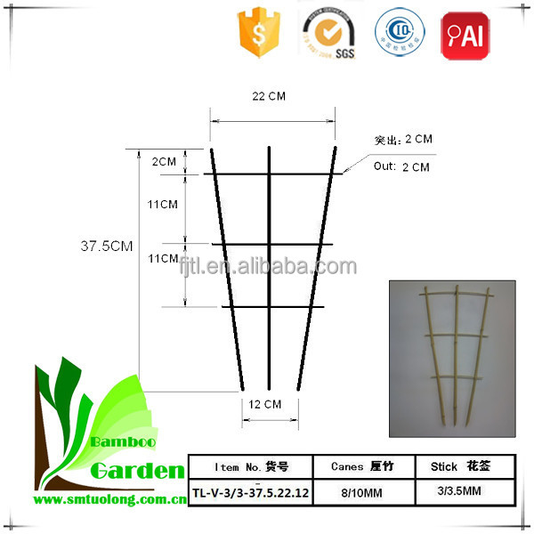 Wholesale Natural Garden Bamboo Trellis
