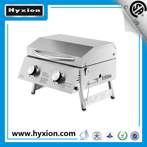 Outdoor Gas Bbq Grill/Camping Built In Bbq With U Shape Bunner