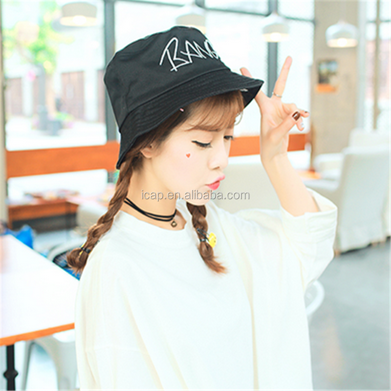 South Korea can be folded sun hat finish cap wholesale cap