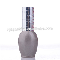 nail gel polish glass bottle with cap and brush Wholesale high quality 17mini nice lacquer pearly lustre