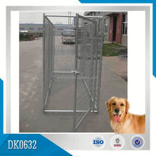Small MOQ Galvanized Dog Kennel Cage