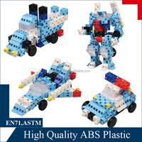 Creatively 100pc block set assembly funny train set