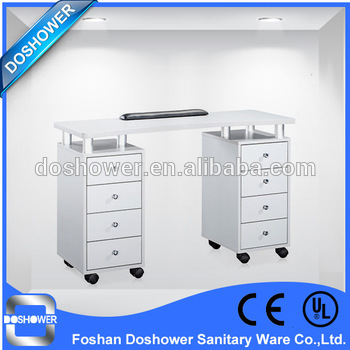 Doshower Luxury vented nail table in Salon