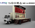 YES-C40 road show mobile led display truck with stage