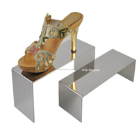 Wholesale Metal Retail Shoe Store Shelf Display, Shoes Shelf Commercial Shoe Rack
