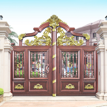 HS-LH004 fancy backyard latest indian house main gate designs