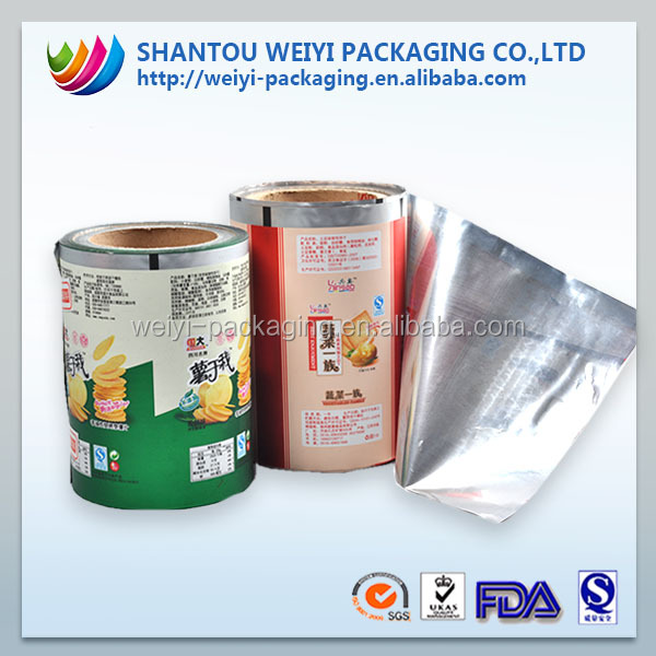 Good quality food safe sachets film in roll for food packaging
