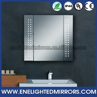 New Arrival Modern Vanity bathroom display glass mirror cabinet