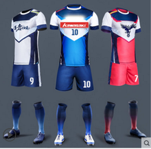 custom made sublimation football jersey shirts/ Thai quality sports soccer jersey