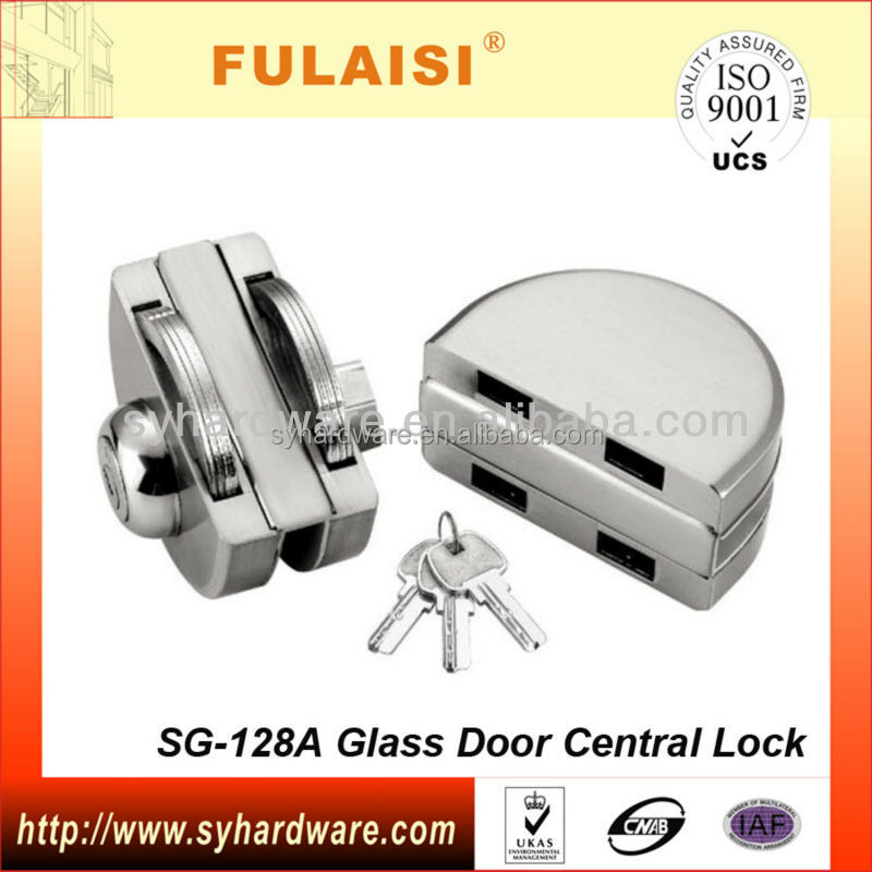 Fulaisi Top Security Double Cylinder Door Lock with Keys for Glass Sliding Door