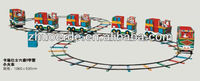 Outdoor musical plastic train set toys ZED2281