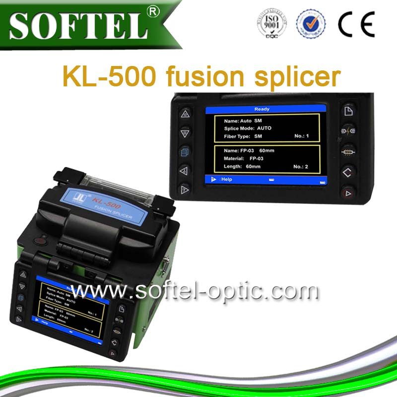 SOFTEL single fiber fusion splicer tcw 605 sumitomo 80s splicing machine fusion splicer