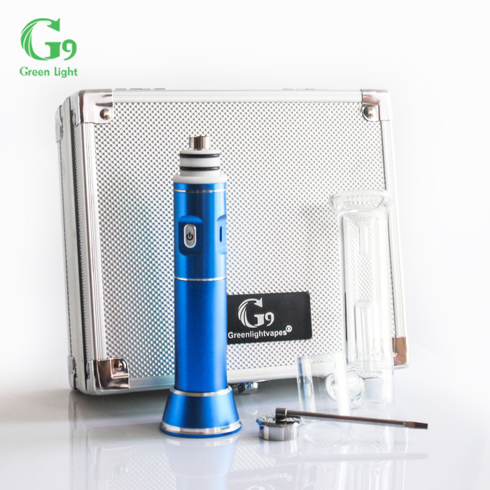 Authentic Greenlightvapes portable enail dab rig rechargeable enail g9 henail