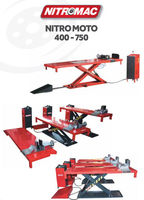 NITROMAC HYDRAULIC SCISSOR MOTORCYCLE LIFTS