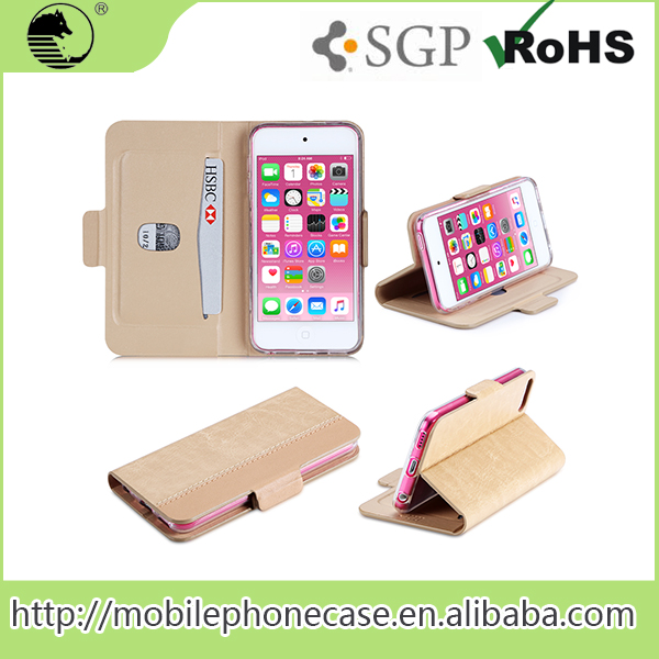 China Supplier Best Selling Easy Clip Design name brand cell phone cases For iPod Touch 6