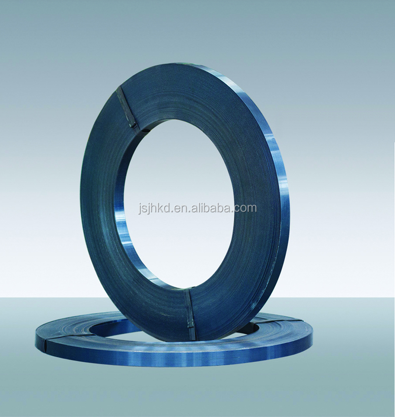 bluing steel strapping for seal buckle packing