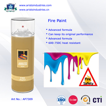 650-700 Centigrade Heat Resistant Acrylic Fire Paint