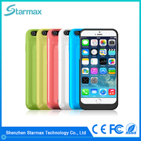 High quality hot sale fashion battery charger case for iphone 6s
