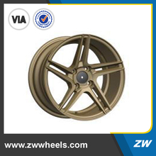 Dubai design 15 inch aluminum rim,cheap price jwl via alloy car wheel(ZW-AU-5316)