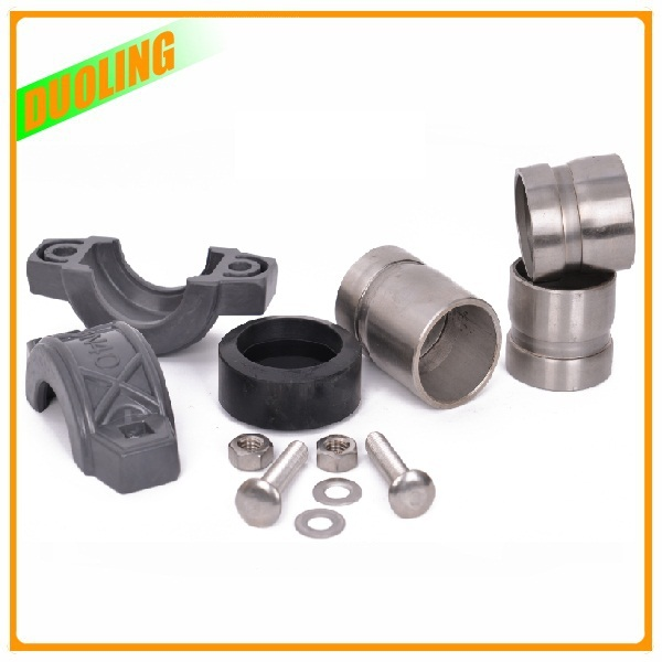 "SS2205 SS2507 3"" DN80 89mm flexible coupling assembly for pipe connection with Best Service"