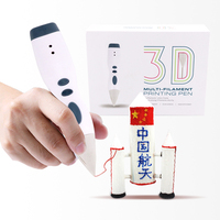 Best children gift magic art 3d art pen 3d magic pen with free filaments