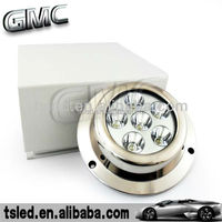 6X3W ss316 housing LED underwater boat light/LED yacht light