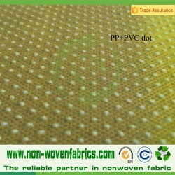 PP Spunbonded Nowoven Fabric Dot color Style Natural Color