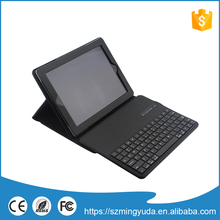 High Quality Stand Leather Case with keyboard For ipad234