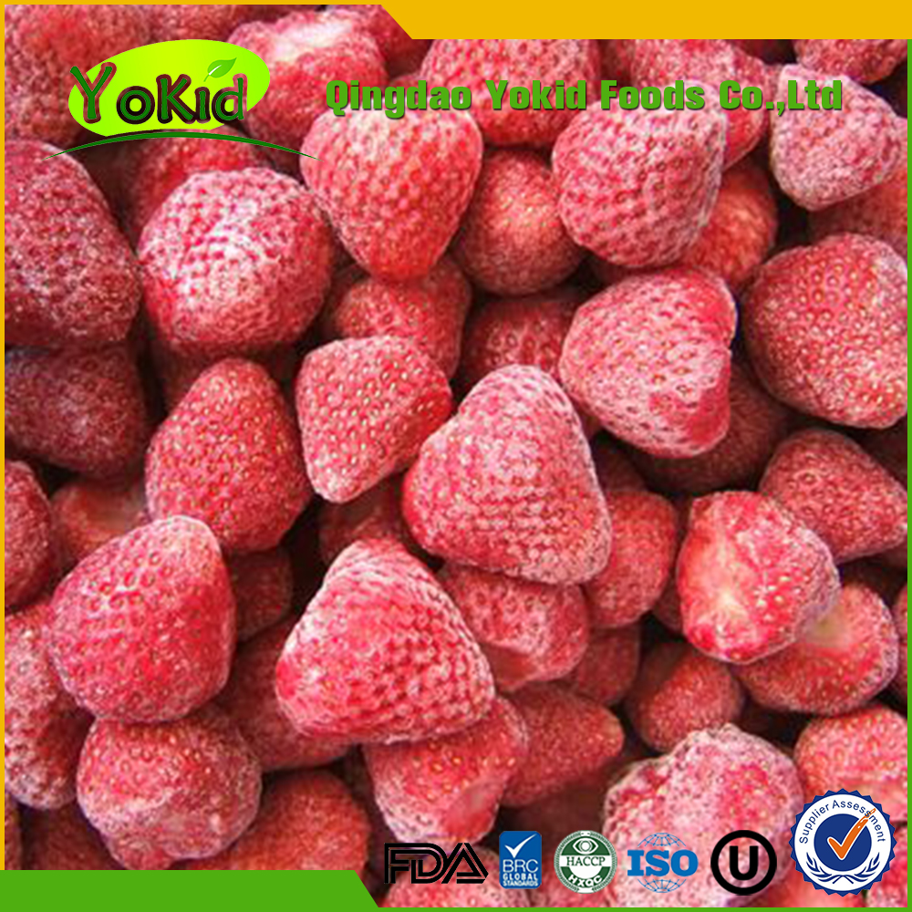 2017 New Crop IQF Frozen Strawberry Fruits