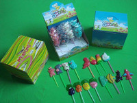 18g animal vegetable ship gun airplane pineapple lollipop Candy