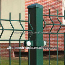 High security powder coated 3D fence panel/Curved Wire mesh netting