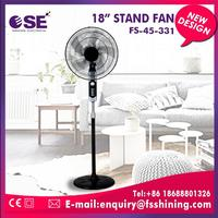 Manufacturer custom stand fan wiht 3 metal blades with low price