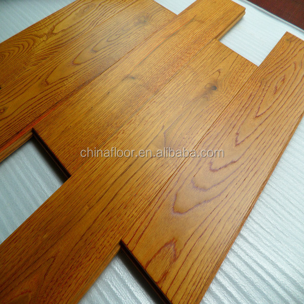 3 Strip 4mm Toplayer Oak Cheap Engineered Wood Flooring