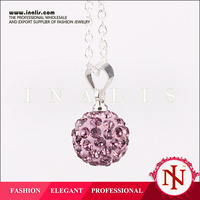 Wholesale crystal necklace best friend pendant P016