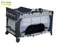 2015 hot selling Folding Baby cribs with changing station with high quality and great price