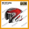 Shiny High Ranged Adult Half Face Helmet For Motorcycle With ECE Approval