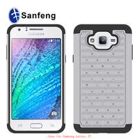 For Samsung Galaxy J7/J700 silicone gel diamond cell phone case