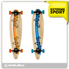 "Canadian maple PU wheel 36"" long board skateboard"