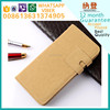Fast delivery case for iphone 5c leather wallet case made in China