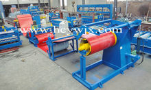 Color Steel Sheet Uncoiling Slitting Cutting Collecting Production Line