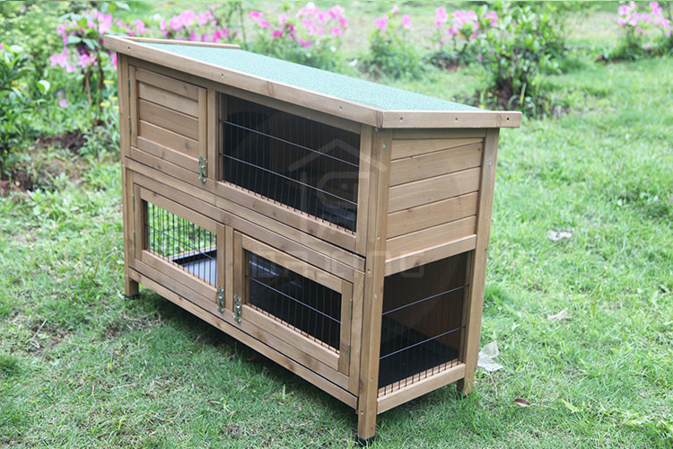 Professional made waterproof cage for breeding rabbits