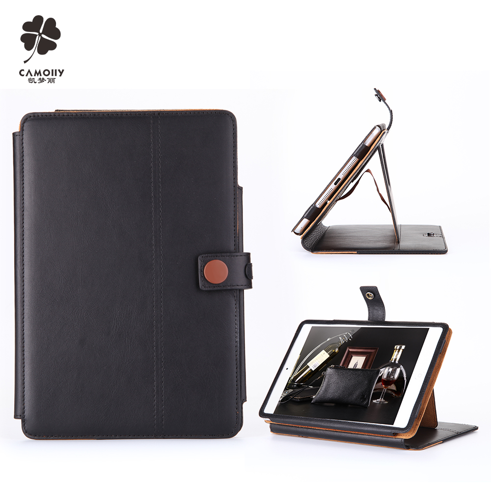 Guangzhou Fashionable Wallet Universal Tablet Back Cover Leather Case For Ipad