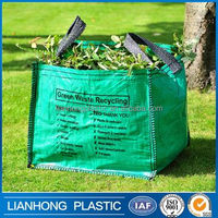 Accept customer order leaf garden collector big bags with best price, recycle jumbo bag, fibc bulk bag