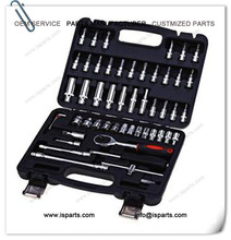 53pcs Automobile Motorcycle Professional Repair Tool Box Set Joint Hardware Kit
