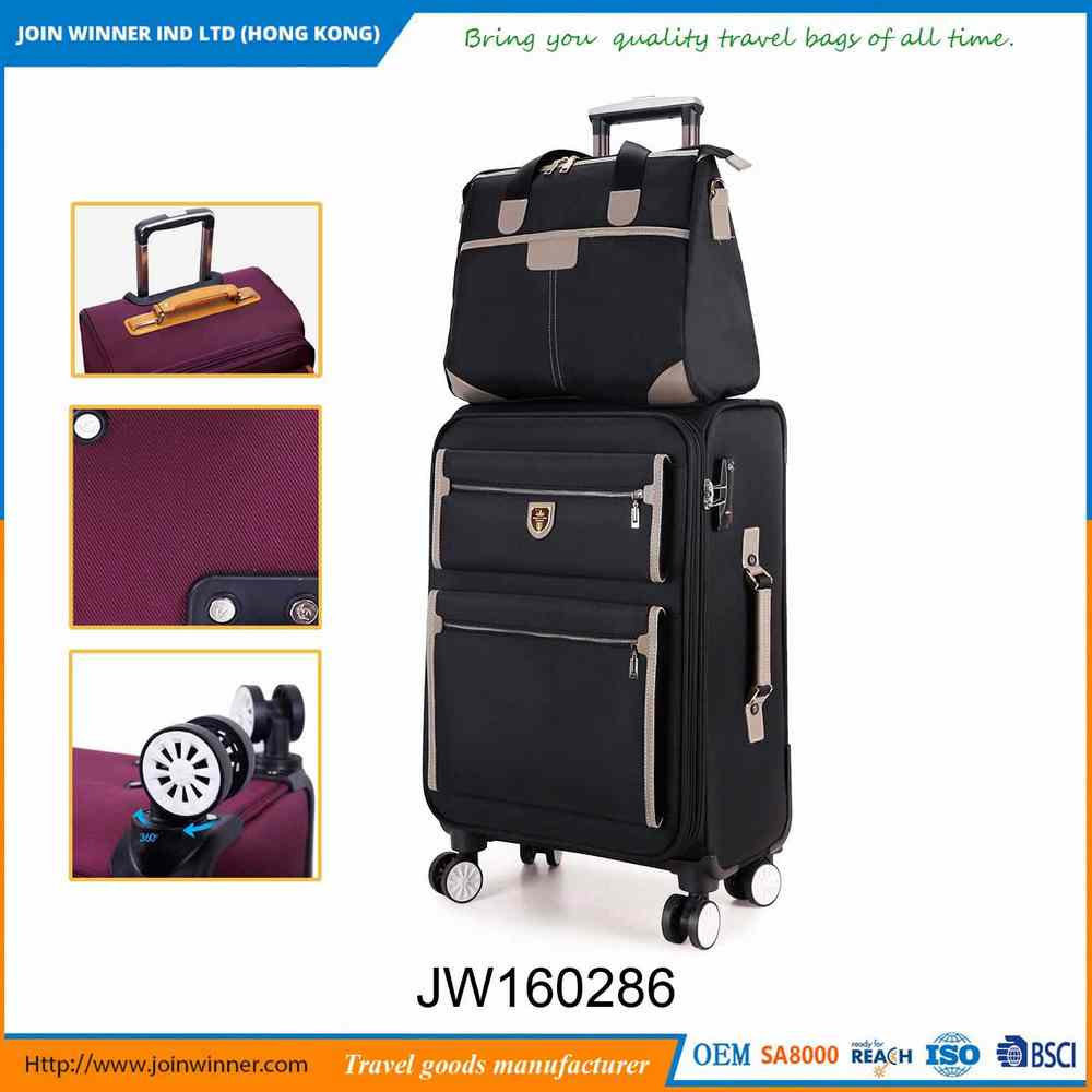 Factory Wholesale 3 Piece Luggage Travel Set With Promotional Price