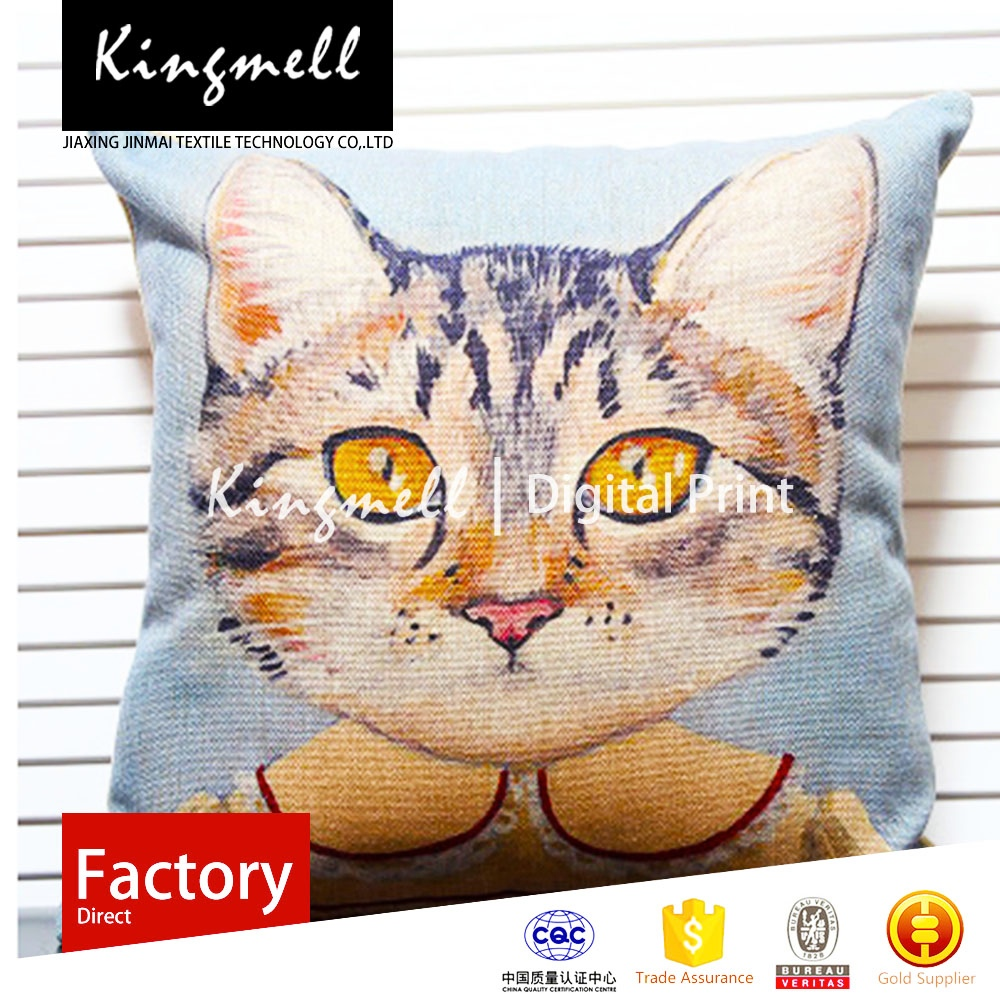 People love cats must have a summer air moisture and Winter skin feels good dear durable washable high-quality cushion cover