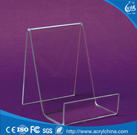 Decorative cheap clear acrylic plastic display easels