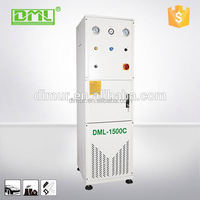 Central dust collection dry grinding system for all in one woodworking machine